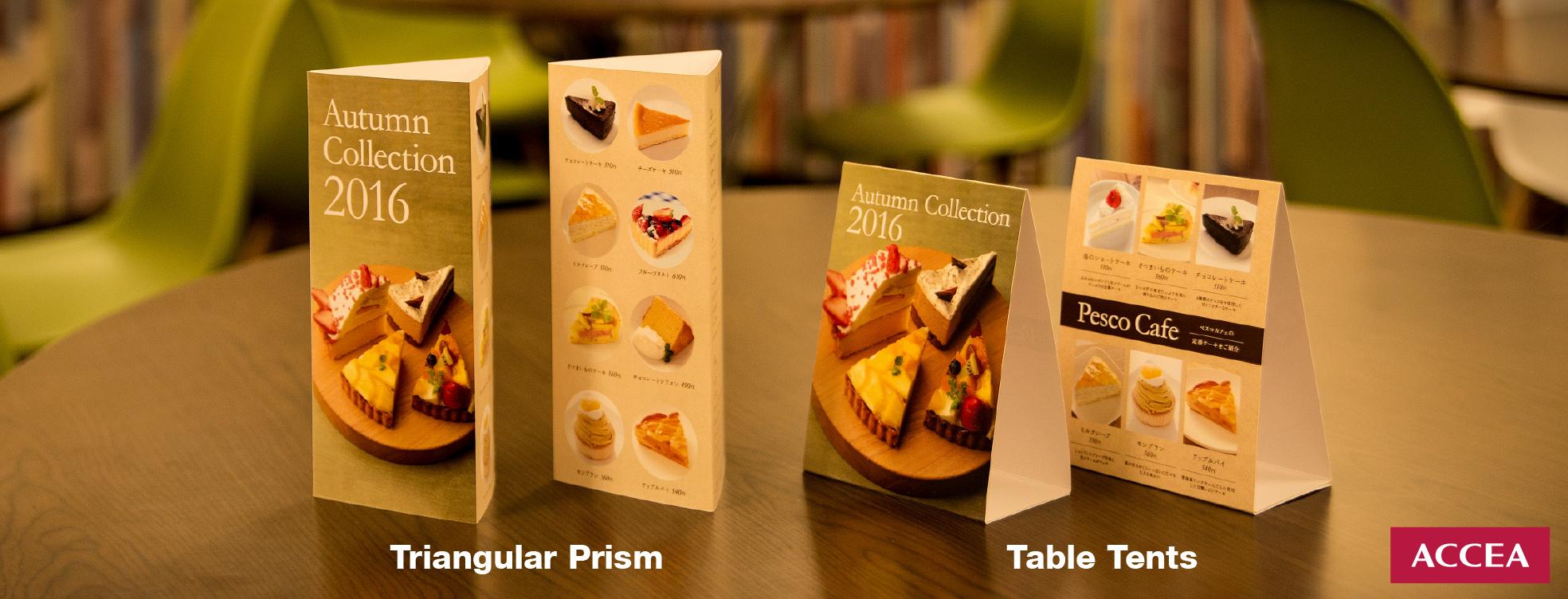 tri fold table sign digital printing shop accea tanjong pagar